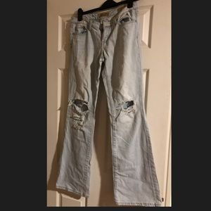 Distressed Seven 7 jeans